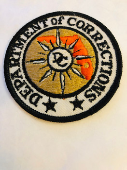 OLD SCHOOL FLORIDA DEPT. OF CORRECTIONS PATCH