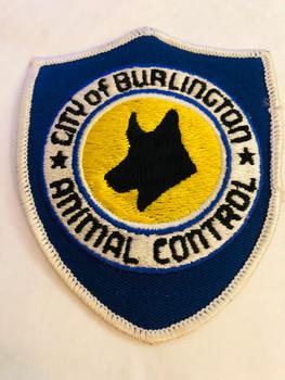 CITY OF BURLINGTON ANIMAL CONTROL PATCH
