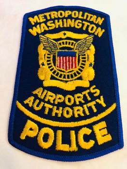 METROPOLITAN WASHINGTON AIRPORTS AUTHORITY POLICE PATCH
