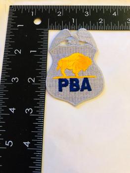 BUFFALO NEW YORK POLICE BENEVOLENT ASSOCIATION PATCH