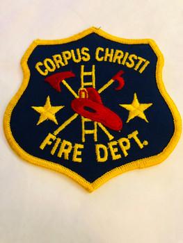 CORPUS CHRISTI TEXAS FIRE DEPARTMENT PATCH