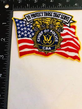 NEW YORK STATE POLICE CHIEFS BENEVOLENT ASSOCIATION PATCH