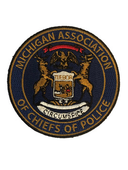 MICHIGAN ASSOCIATION OF CHIEFS OF POLICE PATCH