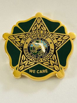 BRADFORD COUNTY SHERIFFS OFFICE COIN SHERIFF SMITH