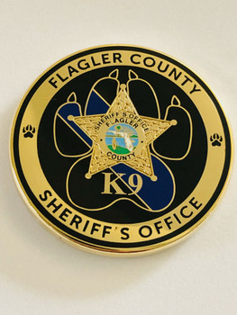 FLAGLER CTTY SHERIFFS OFFICE K-9