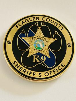 FLAGLER CTTY SHERIFFS OFFICE K-9