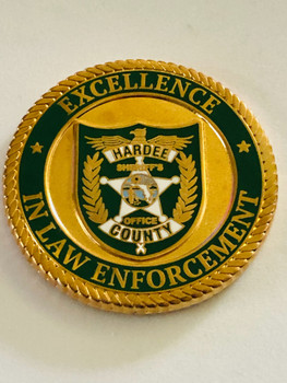 HARDEE CTY SHERIFF COIN