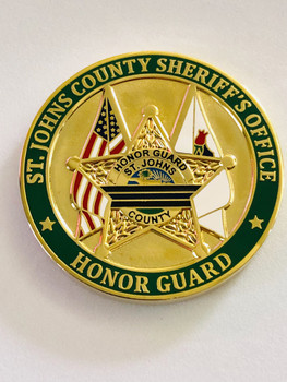 ST. JOHNS CTY SHERIFFS OFFICE HONOR GUARD