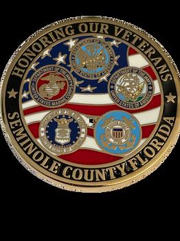 SEMINOLE CTY SHERIFFS OFFICE HONOR VETERANS