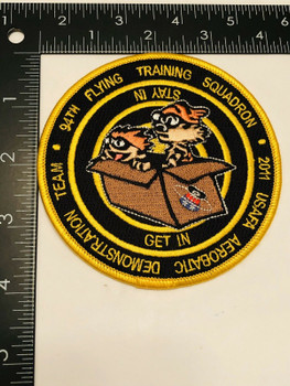 94th FLYING TRAINING SQUADRON GET IN STAY IN PATCH