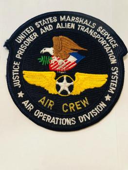 AIR CREW AIR OPS DIV USMS PRISONER ALIEN TRANSPORTATION