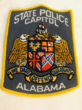 ALABAMA STATE CAPITOL POLICE PATCH