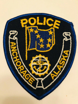 ANCHORAGE POLICE ALASKA PATCH