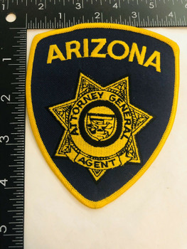 ARIZONA ATTORNEY GENERAL AGENT PATCH LAST ONE RARE