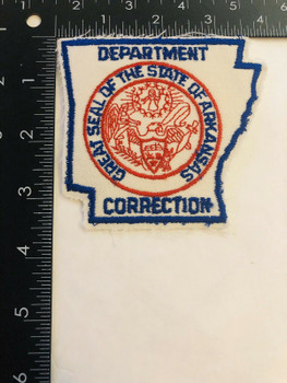 ARKANSAS DEPARTMENT OF CORRECTIONS PATCH LAST ONE RARE