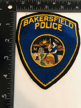 BAKERSFIELD POLICE CALIFORNIA PATCH