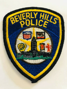BEVERLY HILLS POLICE DEPT. CALI PATCH