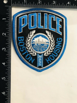 BOSTON MASSACHUSETTS HOUSING POLICE PATCH LAST ONE