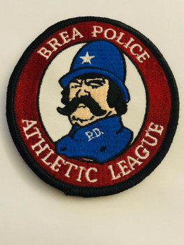 BREA POLICE ATHLETIC LEAGUE PATCH VERY RARE LAST ONE