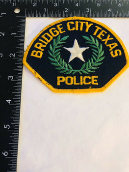 BRIDGE CITY TEXAS POLICE PATCH