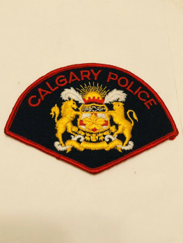 CALGARY POLICE PATCH