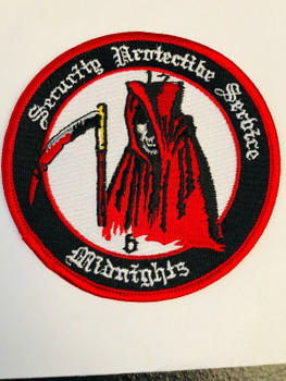 CIA SECURITY PROTECTIVE SERVICE MIDNIGHTS PATCH RARE