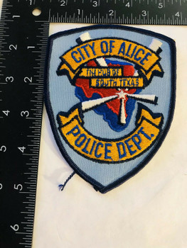 CITY OF ALICE POLICE TEXAS THE HUB OF SOUTH TEXAS PATCH