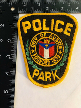 CITY OF AUSTIN TEXAS PARK POLICE PATCH