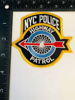 CITY OF NEW YORK HIGHWAY PATROL PATCH