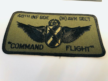 COMMAND FLIGHT 48TH PATCH RARE