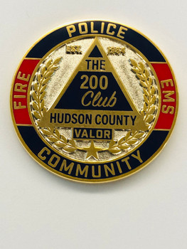 200 CLUB COIN HUDSON CTY