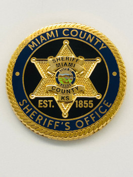 MIAMI COUNTY SHERIFF KANSAS  STAR 24-7-365 COIN