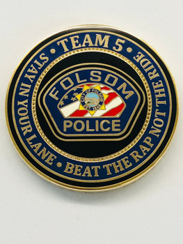 FOLSOM POLICE CALIFORNIA COIN