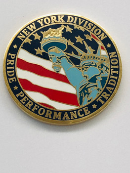 US POSTAL SERVICE NEW YORK DIVISION  PRIDE COIN