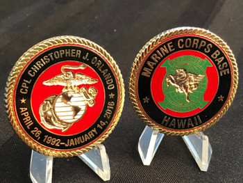 MARINE CORPS BASE HAWAII COIN