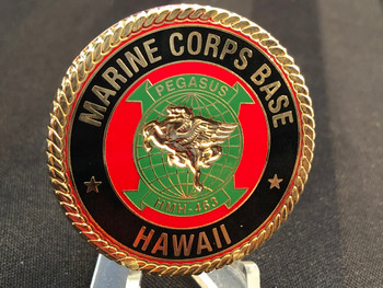 MARINE CORPS BASE HAWAII COIN