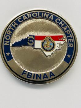 FBINAA NORTH CAROLINA CHAPTER  COIN