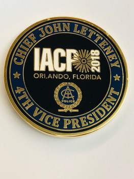 IACP LETTENEY APEX NORTH CAROLINA COIN