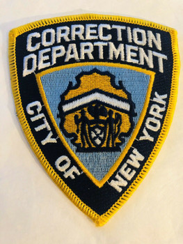 CORRECTION DEPARTMENT CITY OF NEW YORK PATCH