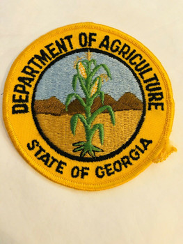 DEPARTMENT OF AGRICULTURE STATE OF GEORGIA PATCH