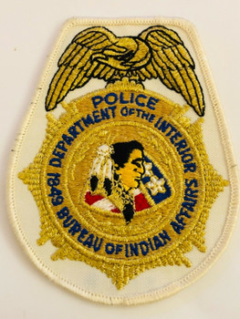 DEPT OF INTERIOR BUREAU OF INDIAN AFFAIRS POLICE PATCH