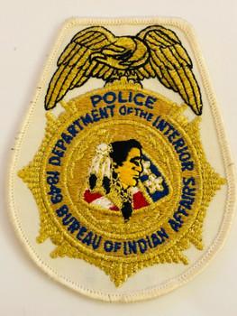 DEPT OF INTERIOR BUREAU OF INDIAN AFFAIRS POLICE PATCH