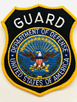 DEPT.OF DEFENSE GUARD PATCH RARE LAST ONE