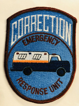NYPD EMERGENCY RESPONSE UNIT CORRECTIONS PATCH