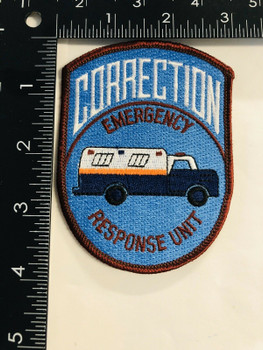 EMERGENCY RESPONSE UNIT CORRECTIONS PATCH
