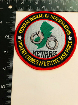 FBI NEWARK VIOLENT CRIMES PATCH