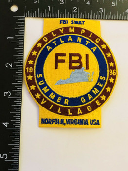 FBI OLYMPIC S ATLANTA 1996