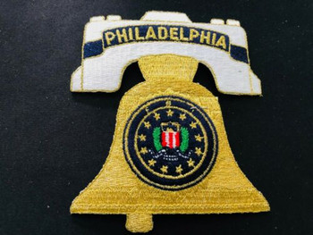 FBI PHILLY BELL PATCH