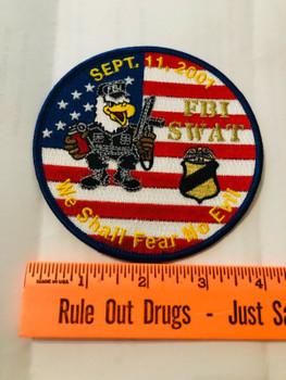 FBI SWAT SEPT. 11TH 2001 NO EVIL PATCH