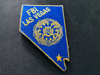 FBI VEGAS LASER CUT PATCH